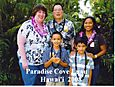 Nicholas & Aurora with Darnell and Micah at Paradise Cove