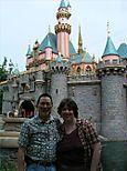 Nicholas and Aurora at Sleeping Beauty Castle