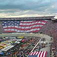 American Flag twice at Bristol, TN