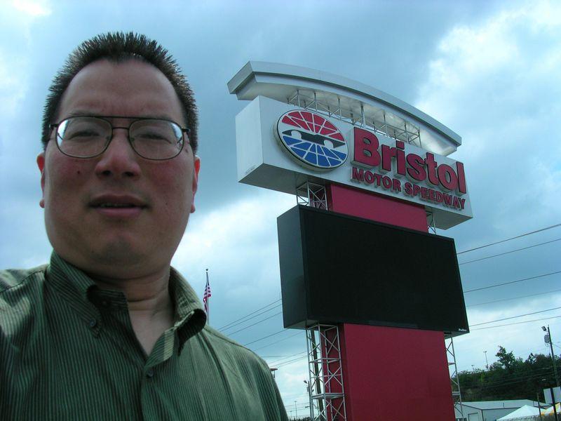 TONO at Bristol MotorSpeedway sign on Highway 11 8-23-2009