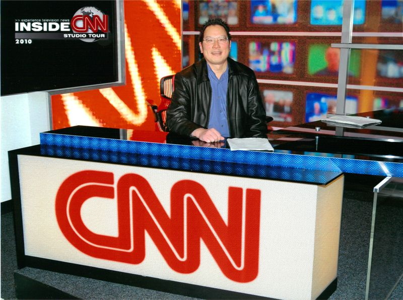 TONO at CNN mocked anchor desk 11-30-2010
