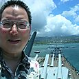 TONO at the top of the USS Missouri 8-4-11