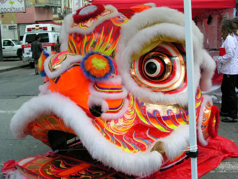 Dragon in Chinatown 2-11-2012