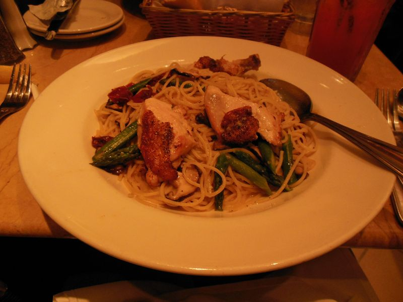 Cheesecake Factory Garlic Noodles 6-24-12