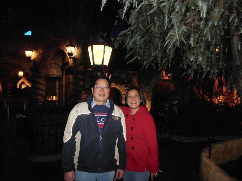Nicholas Edwina Disneyland visit 11-10-12