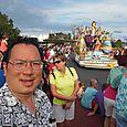 Nicholas at Magic Kingdom Celebrate Life parade