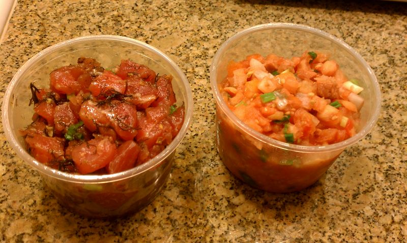 2011 Foodland Aku and Lomi Salmon