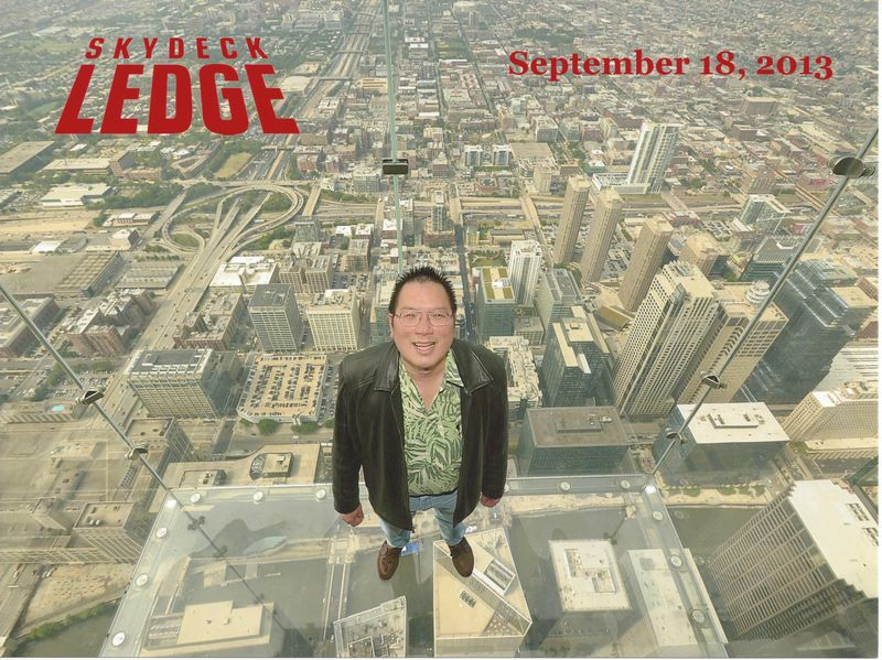 TONO on the Skydeck Ledge 9-18-2013