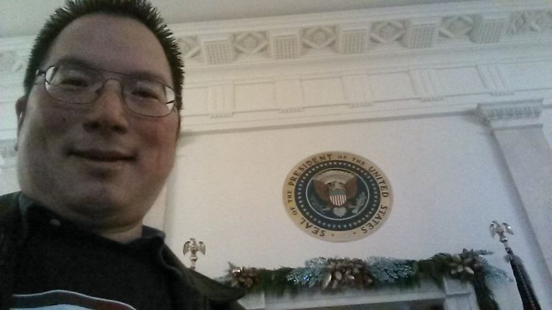 Nicholas at White House Seal 12-5-2013