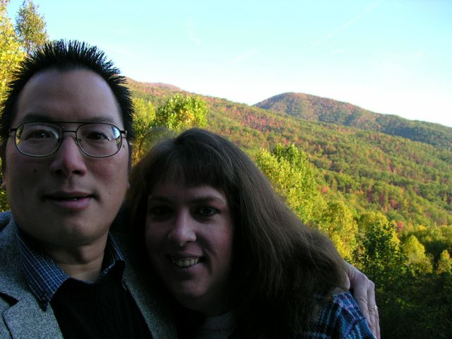 First Picture in Mountains Married