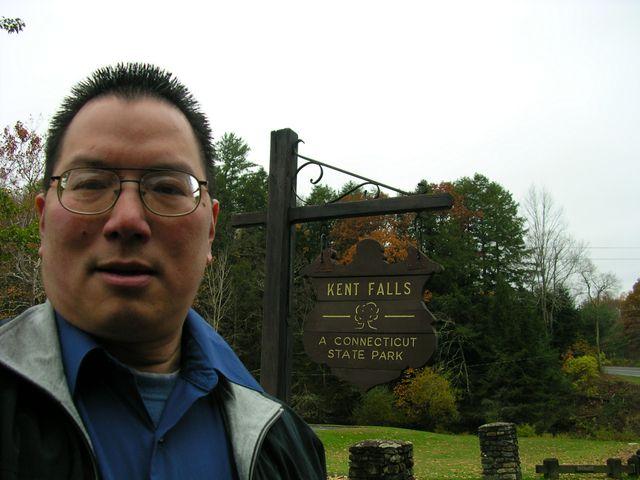 TONO at Kent Falls 10-27-09