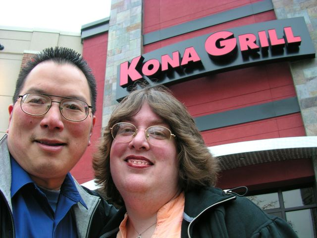 TONO and Sunshine 2nd Anniversary Dinner at Kona Grill 10-27-09