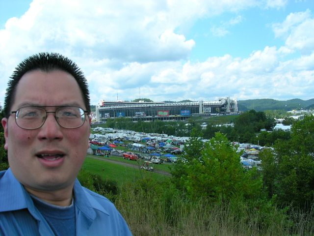 TONO at north position of Bristol MotorSpeedway on 394
