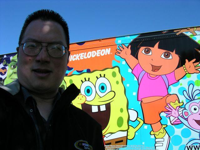 Dora at Texas Motor Speedway