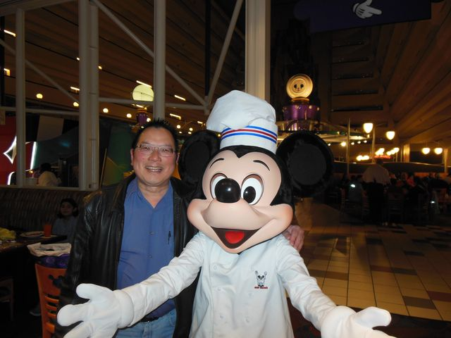 At Contemporary: Chef Mickey