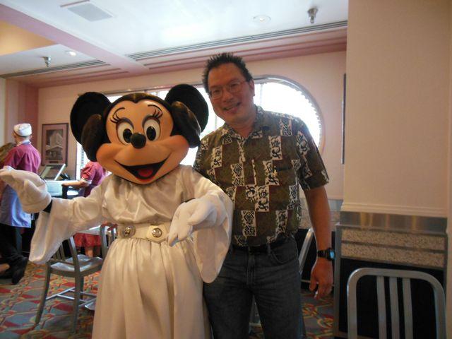 Princess Leia Minnie & Me