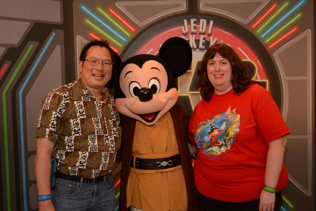 PhotoPass Visiting Disneys Hollywood Studios: Jedi Mickey!