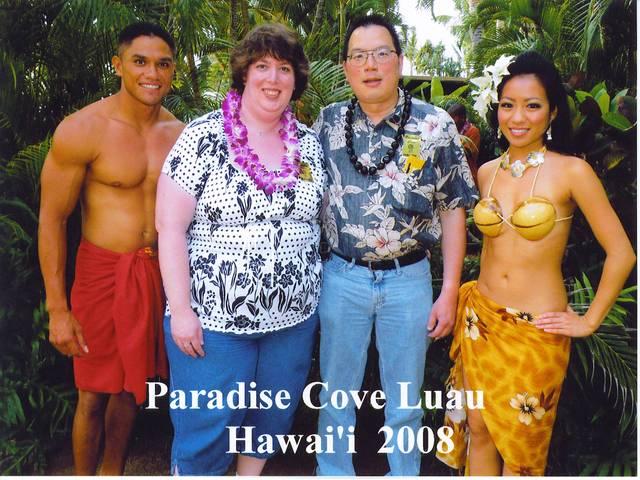 Nicholas & Aurora ... the official Paradise Cove picture