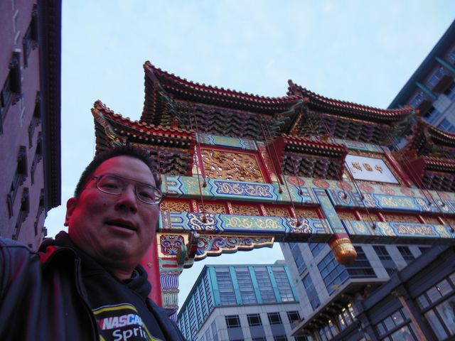 TONO at Washington DC's Chinatown Friendship Archway