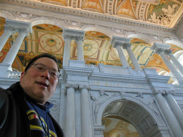 Nicholas at the Library of Congress