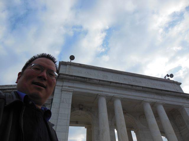 Nicholas at the Arlington Memorial Theather