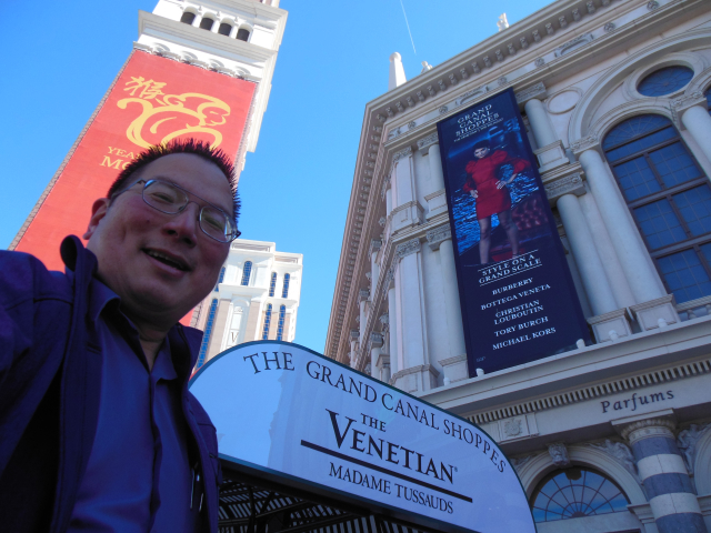 2016: At The Venetian on The Strip
