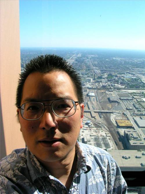Nicholas at the top of the Sears Tower